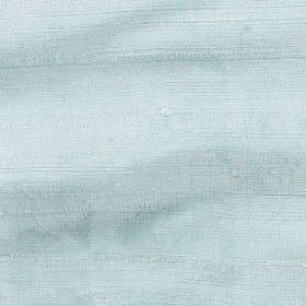 Handwoven Silk - Fern - Pale aqua blue coloured 100% silk fabric made with no pattern