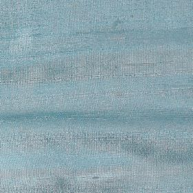 Handwoven Silk - Ocean - 100% silk fabric made in a colour that's a blend of aqua blue and light grey