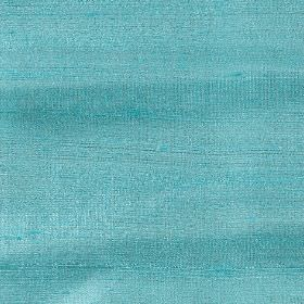 Handwoven Silk - Ocean Wave - 100% silk fabric made in a bright, light shade of turquoise