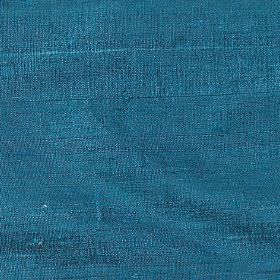 Handwoven Silk - Pagoda - Plain marine blue coloured 100% silk fabric