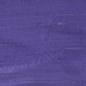 Handwoven Silk - Lavender - 100% silk fabric made in a plain but bright shade of Royal purple
