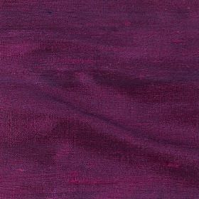 Handwoven Silk - Heather - Dark pink-purple coloured fabric made from 100% silk