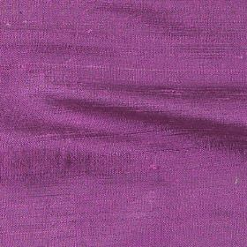 Handwoven Silk - Royal Lilac - Vivid fuschia coloured fabric made entirely from silk