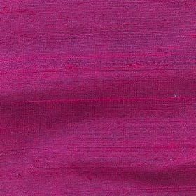 Handwoven Silk - Rose Bud - Fabric which has been woven from 100% silk in a very bright shade of pink as well as some darker purple