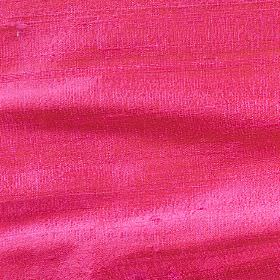 Handwoven Silk - Shocking Pink - 100% silk fabric made in a plain but very bright shade of pink