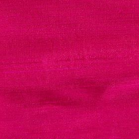 Handwoven Silk - Raspberry - Fabric made from nothing but bright raspberry coloured silk