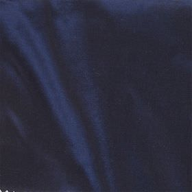 Imperial Silk - Marine - Plain fabric made from 100% silk in a very deep shade of Royal blue