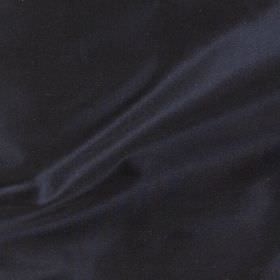 Imperial Silk - Navy - Deep midnight blue coloured fabric made from 100% silk