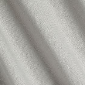 Linenfold - Pale Slate - Fabric made in a classic, plain white colour with a 60% linen and 40% cotton content
