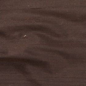 Orissa Silk - Espresso - Fabric made from 100% silk in a dark grey-purple colour