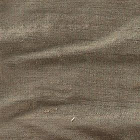 Orissa Silk - Otter - Plain 100% silk fabric made in concrete grey