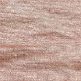 Orissa Silk - Fondant - Fabric woven from luxurious pale pink and white coloured 100% silk threads
