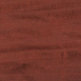 Orissa Silk - Chesnut - Fabric made from 100% silk in a dusky shade of dark red