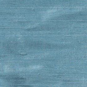 Orissa Silk - Kingfisher - Vibrant blue lagoon coloured 100% silk fabric