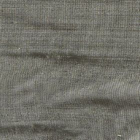 Orissa Silk - Eucalyptus - Fabric made entirely from iron grey coloured silk
