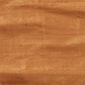 Orissa Silk - Tangerine - Burnt orange coloured fabric made from nothing but silk