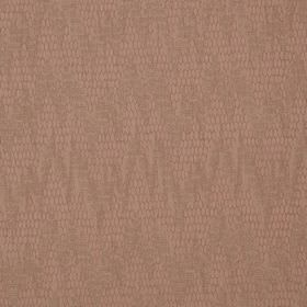 Osprey - Guava - A very subtle design of random, uneven, patterned zigzags on cotton, nylon and polyester blend fabric in dusky pink
