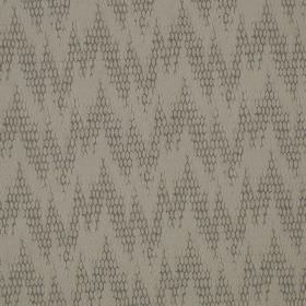 Osprey - Jay - Subtle patterns covering random, uneven zigzags on fabric made from cotton, nylon and polyester in light shades of grey