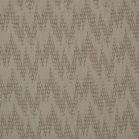 Osprey - Ardmore - Cotton, nylon and polyester blend fabric featuring uneven, patterned zigzags in two different light shades of grey