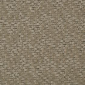 Osprey - Falcon - Two similar light brown-grey shades on cotton, nylon and polyester blend fabric, with uneven, patterned zigzags