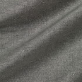 Pelham Silk - Grey Seal - Light denim blue and white coloured threads woven together into a linen and silk blend fabric