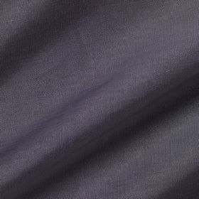 Pelham Silk - Purple Slate - Rich denim blue coloured fabric made from a combination of linen and silk