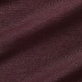 Pelham Silk - Kalamata - Dark purple coloured fabric made with an 85% linen and 15% silk content