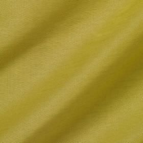 Pelham Silk - Roman Gold - Linen and silk blended together into a fabric in a colour that blends together mustard yellow and olive green