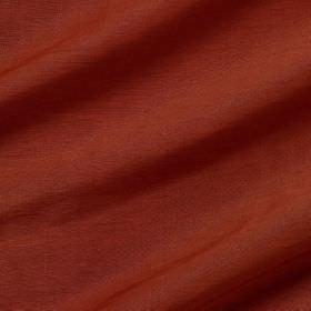 Pelham Silk - Red Sails - Brick red coloured linen and silk blended together into an unpatterned fabric