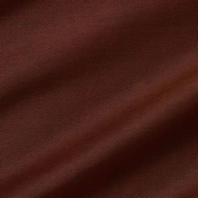 Pelham Silk - Brown Berry - Chocolate brown coloured fabric made to contain both linen and silk