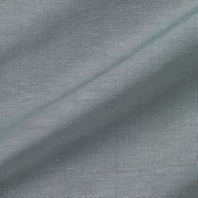 Pelham Silk - Neptune - Fabric made from powder blue coloured linen and silk