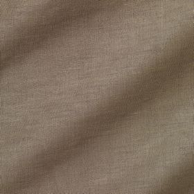 Pelham Silk - Filbert - Fabric made from brown-grey coloured linen and silk