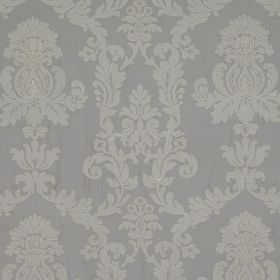 Pimlico - Frost - Very subtly patterned 100% silk fabric featuring an ornate design in two different but similar pale shades of blue