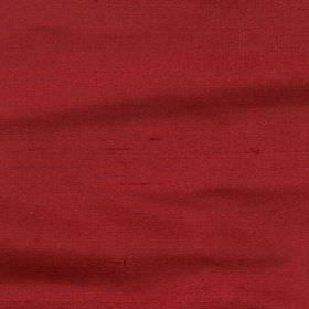 Regal Silk Vol 2 - Crimson - Plain fabric made from luxurious cherry coloured 100% silk