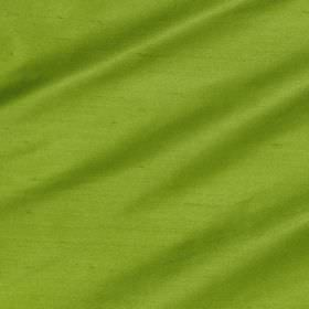 Regal Silk Vol 3 - Parakeet - Fabric made entirely from bright apple green coloured silk