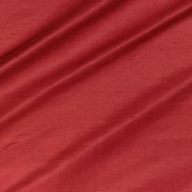 Regal Silk Vol 3 - Redcurrant - Bright red coloured 100% silk fabric