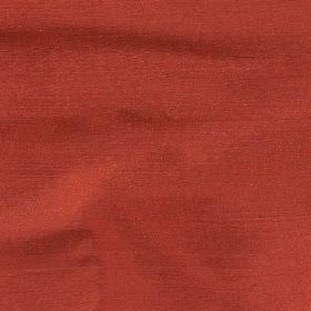 Regal Silk Vol 3 - Italian Red - Fabric made from plain brick red coloured 100% silk