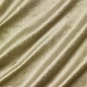 Richmond Velvet - Sandpiper - Plain champagne coloured fabric containing various different materials, finished with a slight sheen
