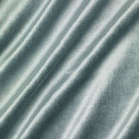Richmond Velvet - Blue Stone - Slightly shiny light blue coloured fabric made from a blend of several different materials