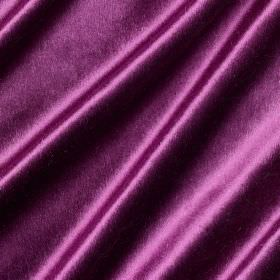 Richmond Velvet - Medici - A slightly shiny finish to Royal purple coloured fabric made from viscose, polyester, cotton, linen and silk