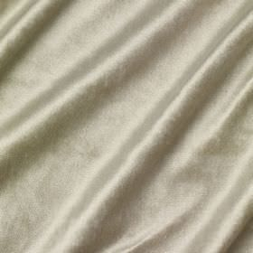 Richmond Velvet - White Heather - Fabric made from various different materials, finished with a sheen in a light silvery grey colour