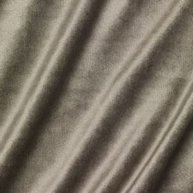 Richmond Velvet - Cobnut - A slight sheen effect on iron grey coloured fabric which is made from a combination of different materials