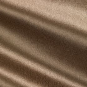 Savoy Silk - Truffle - Light brown coloured cotton and silk blend fabric finished with a sheen