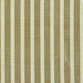 Pavilion Stripe - Celadon - Very pale duck egg blue and dove grey coloured stripes alternating on 100% silk fabric