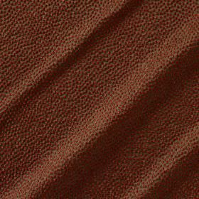 Shagreen Silk - Rembrandt - Copper and brown coloured polyester, silk, wool and acrylic blend fabric covered with a pattern of tiny dots