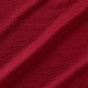 Shagreen Silk - Pink Flambe - Scarlet coloured fabric made from polyester, silk, wool and acrylic, featuring a slightly textured dot pattern
