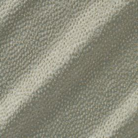 Shagreen Silk - Stepping Stone - Silvery white coloured fabric made from a combination of different materials, featuring a pattern of textur