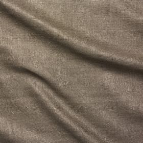 Simla Silk - Bark - Dark grey and white 100% silk threads woven together into a plain fabric