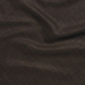 Simla Silk - Bitter Chocolate - Graphite coloured fabric made from plain 100% silk