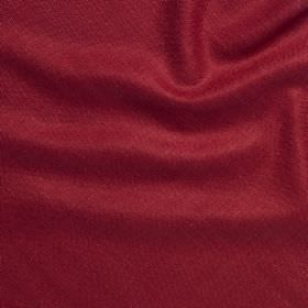 Simla Silk - Tropical Pink - Fabric made with a 100% silk content in a deep claret red colour